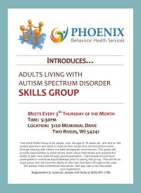 Autism Skills Group Flyer for Download